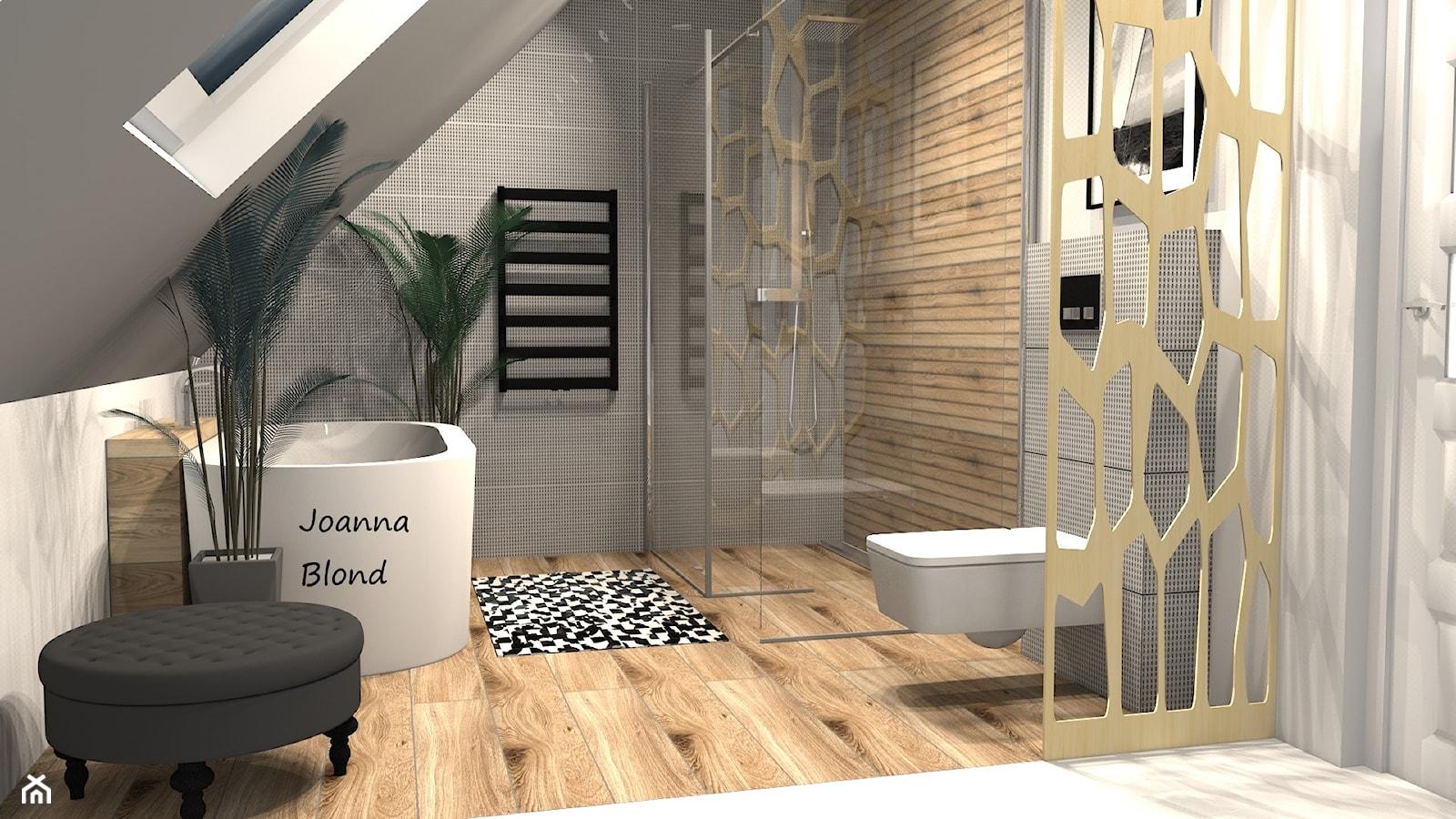 Spa w nowoczesnej łazience - zdjęcie od Studio Projektowe Joanna Blond - Homebook