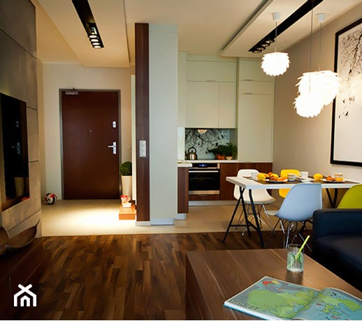 Apartament w Gdańsku  zdjęcie od Kowalczyk Gajda Studio Projektowe -> Salon Kuchni Gdansk