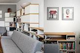 Salon - zdjęcie od Kowalczyk Gajda Studio Projektowe - Homebook