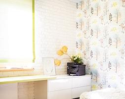 Nowoczesny dom pod Lublinem III - Mały szary kolorowy pokój dziecka dla chłopca dla dziewczynki dla nastolatka, styl nowoczesny - zdjęcie od Piękne Wnętrza Agata Smolińska