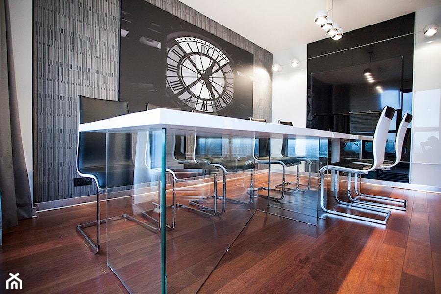 Biuro w Metropolitan Park (17-te piętro) w Lublinie - Biuro, styl nowoczesny - zdjęcie od Piękne Wnętrza Agata Smolińska