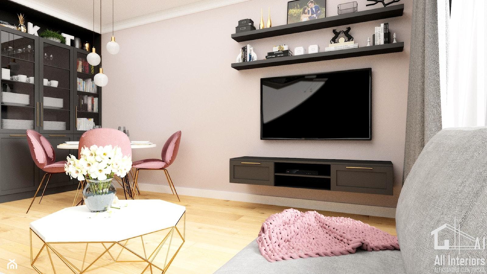 - zdjęcie od All Interiors - projektowanie wnętrz Aleksandra Idzikowska - Homebook