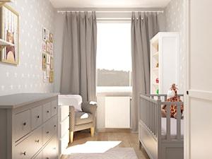 Pokój dla maluszka - Pokój dziecka, styl tradycyjny - zdjęcie od Pracownia projektowa - mgr inż. arch. Agnieszka Surosz