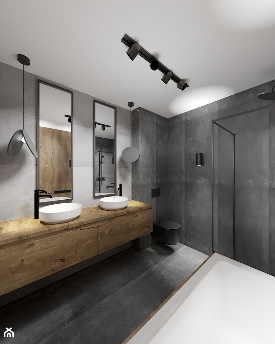 Nowoczesna łazienka - zdjęcie od Załęska projektowanie wnętrz