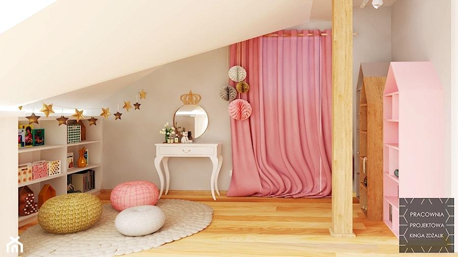 Pokój małej Królewny - zdjęcie od PRACOWNIA PROJEKTOWA KINGA ZDŻALIK