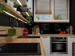 Czery - mary w starej kuchni - zdjęcie od PRACOWNIA PROJEKTOWA KINGA ZDŻALIK