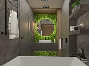 Klimatyczna łazienka z mchem