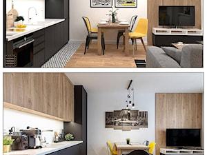 36 m2  - PROJEKT VS REALIZACJA Pierwsze mieszkanie młodego mężczyzny. 🤩🥰😊