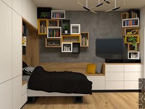 Geometryczny pokój dla nastolatka