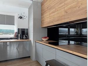 kuchnia w stylu loft - zdjęcie od PRACOWNIA PROJEKTOWA KINGA ZDŻALIK