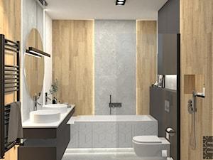 Przytulna łazienka w nowoczesnym stylu