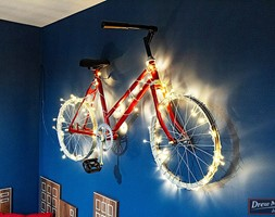 Rower+zamiast+lampy+-+zdj%C4%99cie+od+PRACOWNIA+PROJEKTOWA+KINGA+ZD%C5%BBALIK