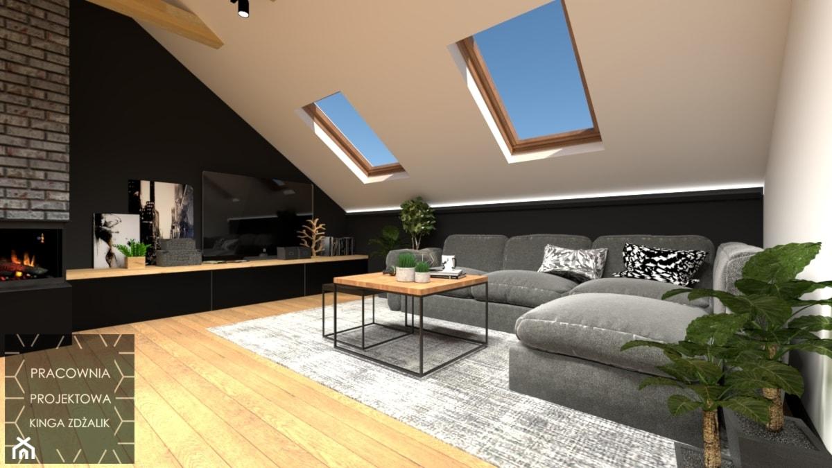 Mieszkanie na poddaszu - zdjęcie od PRACOWNIA PROJEKTOWA KINGA ZDŻALIK - Homebook