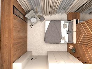 Elegancka sypialnia w przytulnym klimacie
