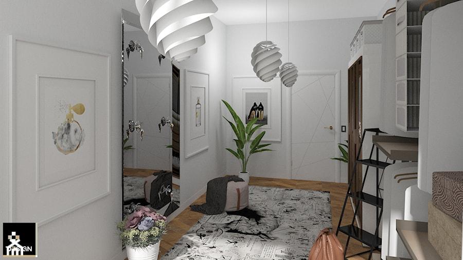 Aranżacje wnętrz - Garderoba: ELEGANCKA GARDEROBA - PLUSDESIGN Studio Projektowe Luba Boccardi. Przeglądaj, dodawaj i zapisuj najlepsze zdjęcia, pomysły i inspiracje designerskie. W bazie mamy już prawie milion fotografii!