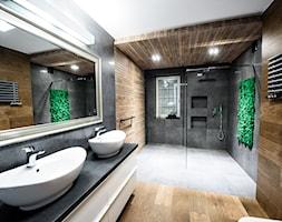 łazienka Z Drewnem Na ścianie Aranżacje Pomysły