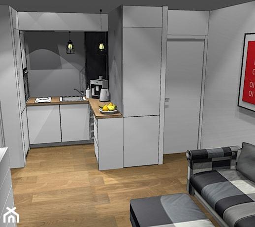 34metrowe mieszkanie w Chorzowie z  widokiem na uczelnię   -> Kuchnia Weglowa Mini