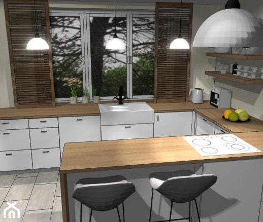 Nieduży parterowy dom  alternatywa dla apartamentu  Kuchnia, styl nowoczesn   -> Kuchnia Dla Dzieci Czarkowska Iwona Chomikuj