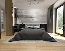 Wnętrza domu pod Krakowem - Sypialnia, styl nowoczesny - zdjęcie od Studio Projektowe Zgodnie Z Planem - Homebook
