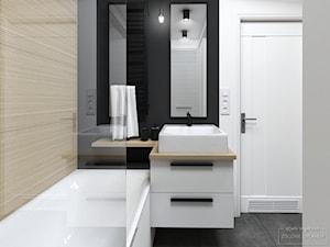Łączona łazienka w bloku