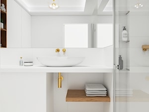Jasna elegancka łazienka