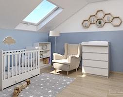 Jasny dom w Niepołomicach - Pokój dziecka, styl nowoczesny - zdjęcie od Studio Projektowe Zgodnie Z Planem - Homebook
