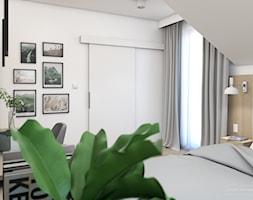 Jasny dom w Niepołomicach - Sypialnia, styl nowoczesny - zdjęcie od Studio Projektowe Zgodnie Z Planem - Homebook
