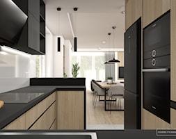 Jasny dom w Niepołomicach - Kuchnia, styl nowoczesny - zdjęcie od Studio Projektowe Zgodnie Z Planem - Homebook