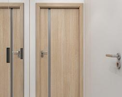 Jasny dom w Niepołomicach - Hol / przedpokój, styl nowoczesny - zdjęcie od Studio Projektowe Zgodnie Z Planem - Homebook