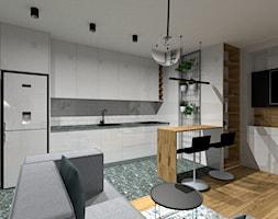Otwarta kuchnia z salonem - zdjęcie od KDK Design