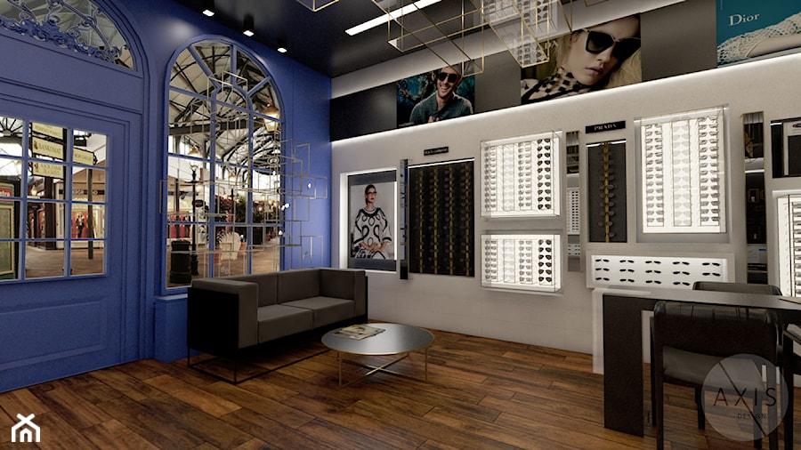 Salon optyczny - Wnętrza publiczne, styl nowoczesny - zdjęcie od AxisDesign