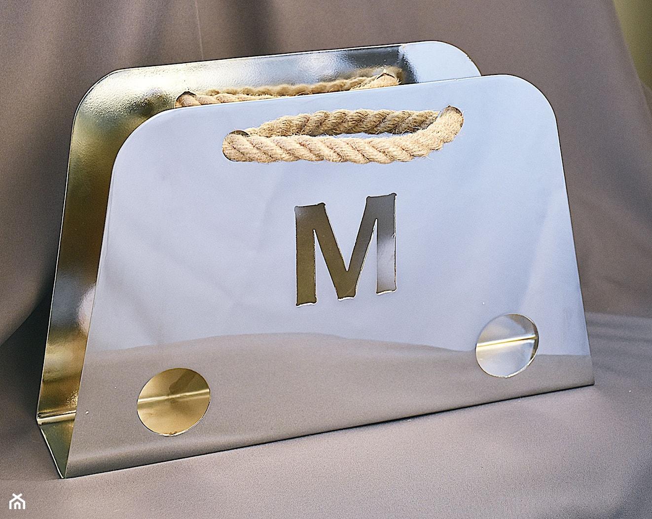 Gazetnik MAGAZINE - Chromowany - zdjęcie od MadarDekor - Homebook