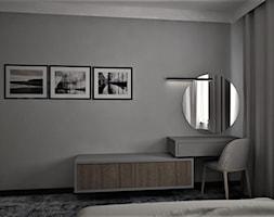 apartament g - Sypialnia, styl nowoczesny - zdjęcie od Minima Studio - Homebook