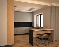apartament k - Salon, styl nowoczesny - zdjęcie od Minima Studio - Homebook