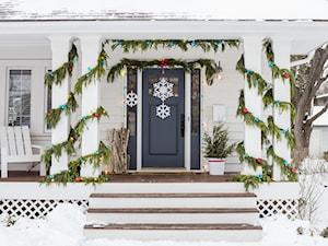 Świąteczne dekoracje - Taras, styl tradycyjny - zdjęcie od Command Inspiracje