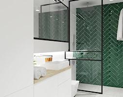 łazienka Z Zielonym Płytkami Aranżacje Pomysły