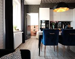 Otwarta kuchnia z salonem - zdjęcie od CD Sign Dorota Chmielnicka