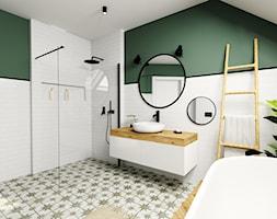 Łazienka na poddaszu - zdjęcie od DOMOVO STUDIO - Homebook