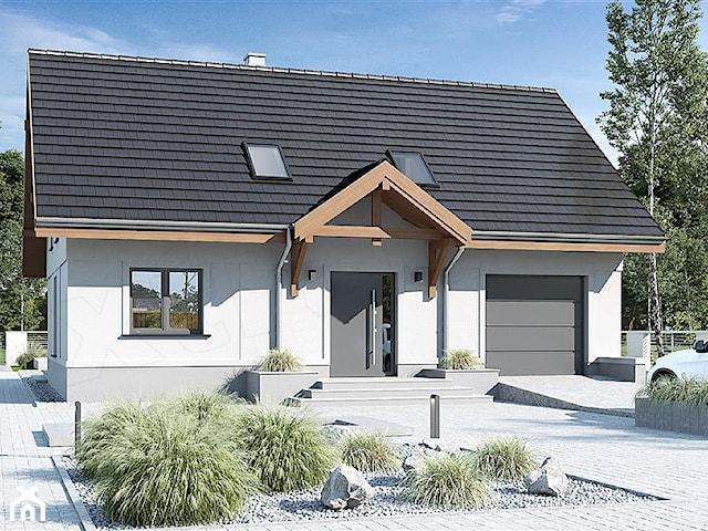 Projekt domu Julia III z garażem 1-st. [A] WRF1670
