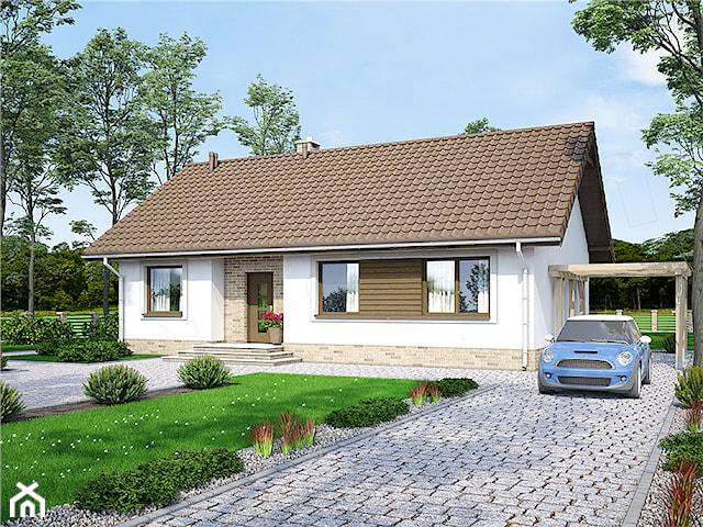 Projekt domu Mokka 3 WOF1080