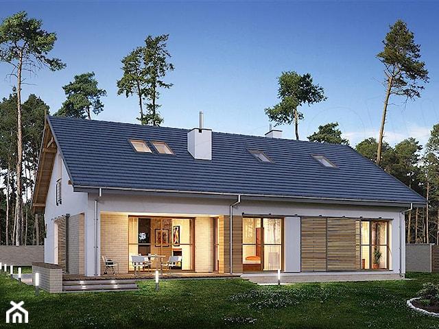 Projekt domu E-184 WAX1087