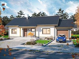 Projekt domu Talent paliwo stałe WOE1069