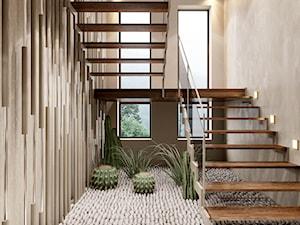 Piaszczysty brzeg - Schody, styl art deco - zdjęcie od Valido Architects