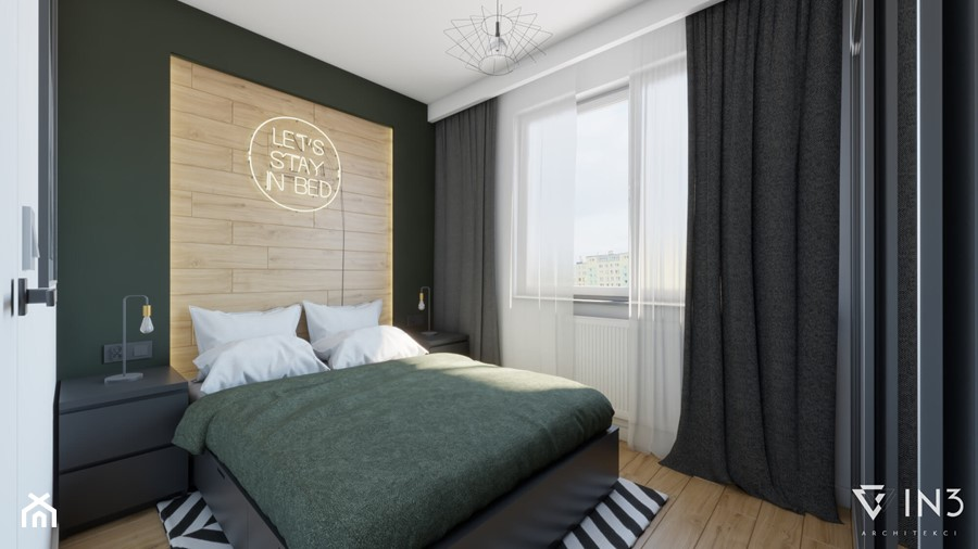Sypialnia - zdjęcie od IN3 Architekci