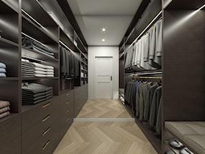 APARTAMENT W STYLU MODERN CLASSIC, WARSZAWA - Garderoba, styl eklektyczny - zdjęcie od IN3 Architekci