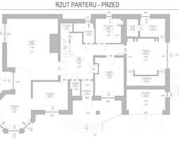 Rzut parteru - przed - zdjęcie od IN3 Architekci - Homebook