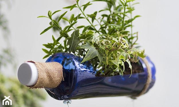 Ozdoby z butelek plastikowych do ogrodu