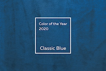 Kolor roku 2020 według Instytutu Pantone – Classic Blue
