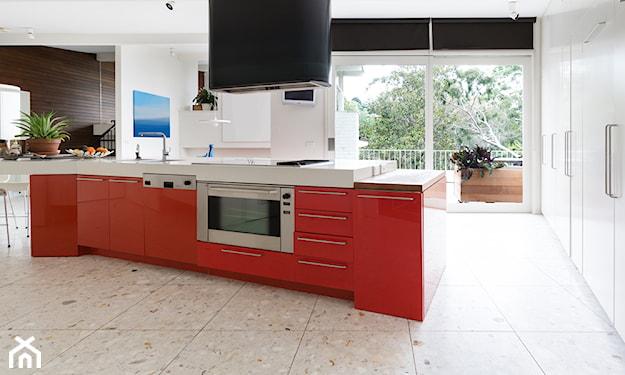 podłoga terrazo w kuchni