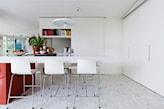 podłoga w kuchni z lastryko
